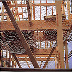 転落防止・落下防止安全ネット 木造住宅用3.2φ