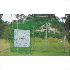 昇降式ゴルフ練習用ケージ1人用(GOタイプ)