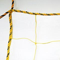 標識ネット(イエロー)100mm目 有結節